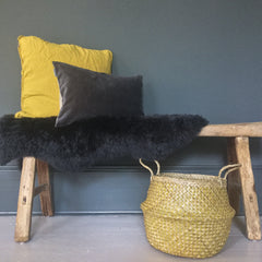 Yellow and Grey Home Accessories