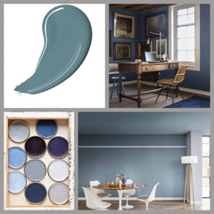 Dulux Denim Drift Decorating with Blue