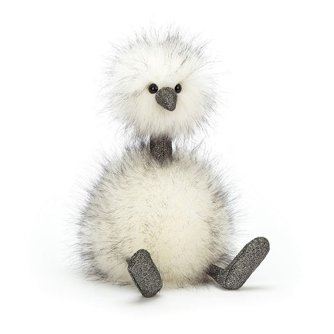 Jellycat Medium Pompom Dazzle Bird Soft Toy