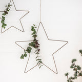 Bronze Metal Star Large