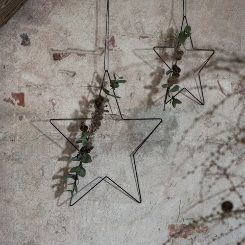 Black Metal Star Large