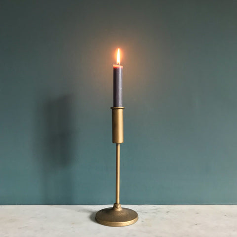 Brass Metal Candlestick Small