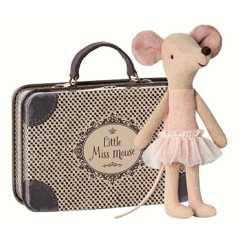 Maileg Ballerina Mouse in Suitcase
