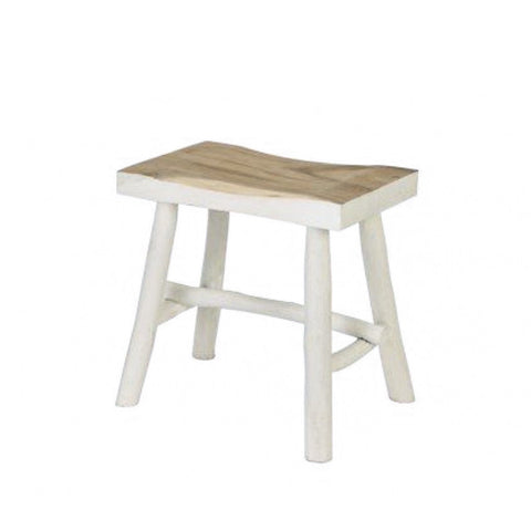 White Dipped Stool
