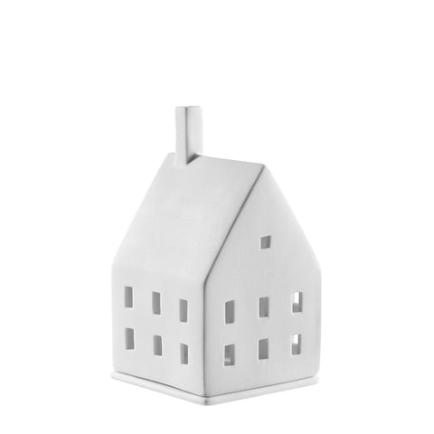 Porcelain Light Up House Small Square