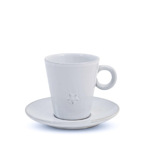 Star Cup and Saucer
