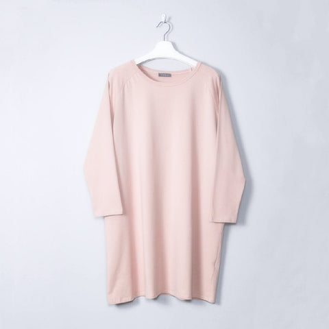Soft Jersey Dress in Pink