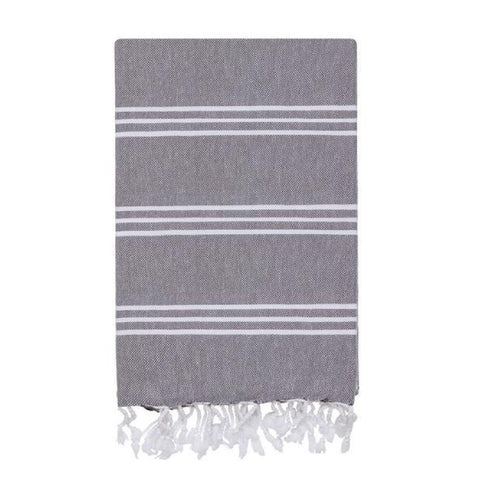 Grey Hamam Towels