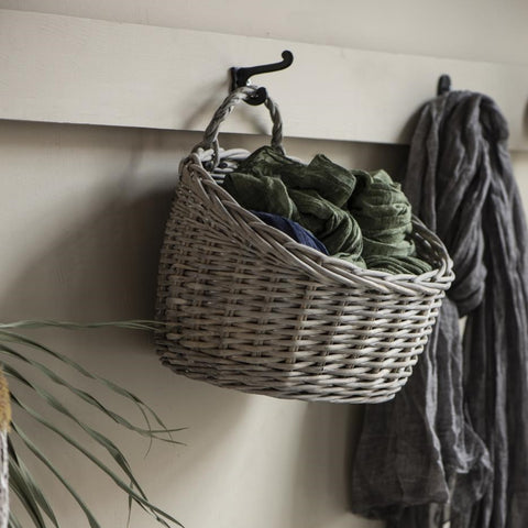 Willow Wall Hanging Basket