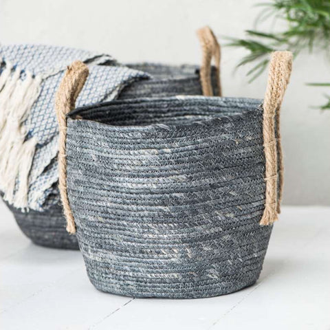 Grey Storage Baskets