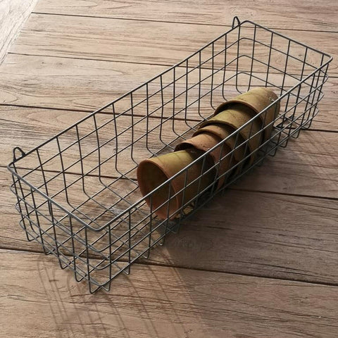 Wire Hanging Shelf Basket
