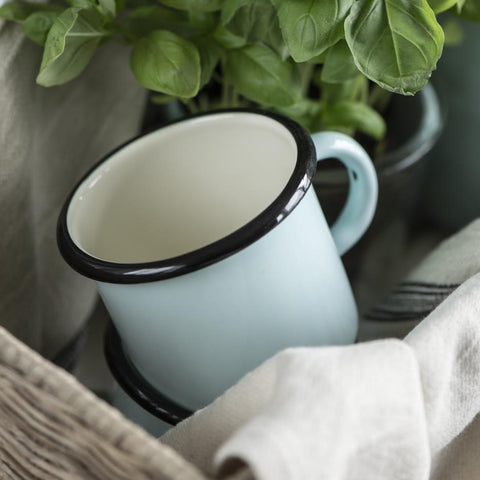 Enamel Mug Light Blue