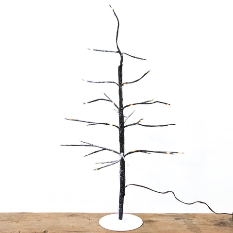 Small LED Snowy Tree 50cm
