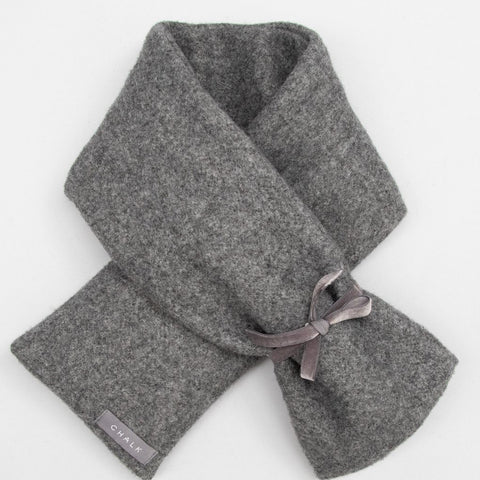 Luxury Long Hot Water Bottle - Charcoal