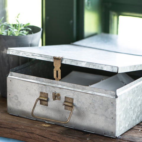 Metal File Storage Box