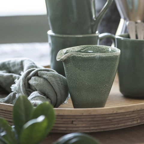 Ceramic Pourer in Green