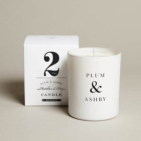 Plum & Ashby 60 hour Heather & Hay Scented Candle