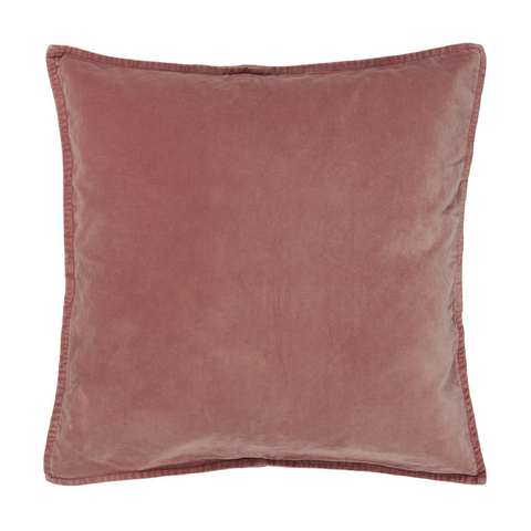 Velvet Cushion Faded Rose