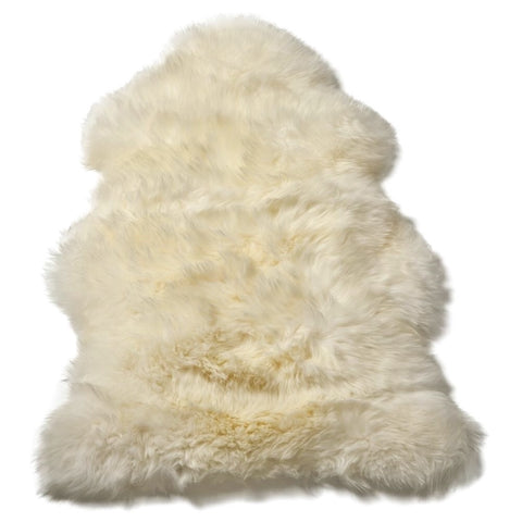 Single Sheepskin in Ivory