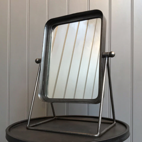 Rectangle Mirror On Stand