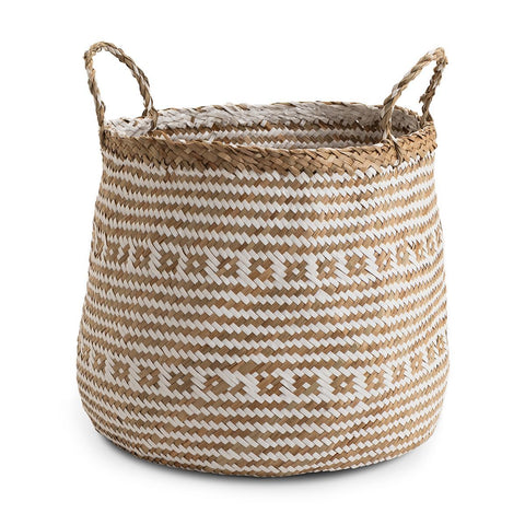 Small Seagrass Barrel Basket