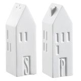 Porcelain House Salt and Pepper Set