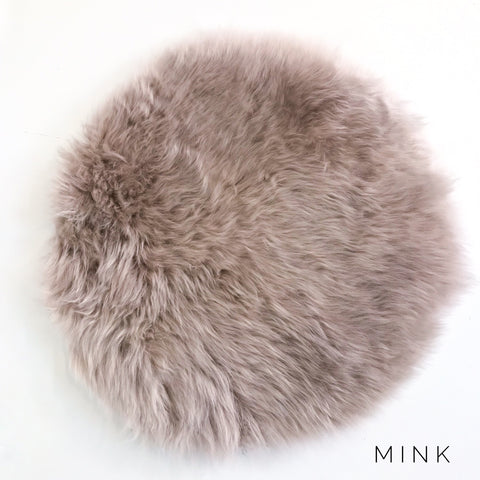 Sheepskin Seatpad in Mink