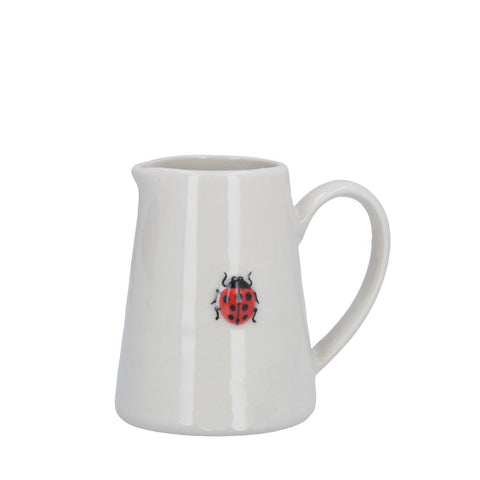 Mini Ceramic Jug with Ladybird