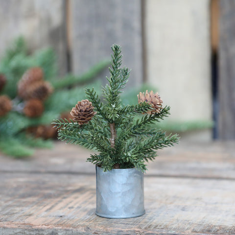 Mini Potted Christmas Tree