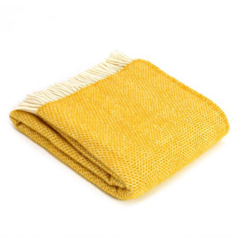 Mustard Yellow Throws