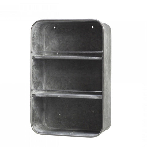 Zinc Wall Rack Short