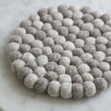 Chunky Fairtrade Felt Trivet