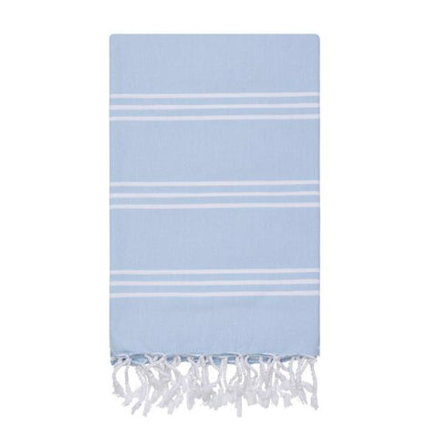 Blue hamam towels