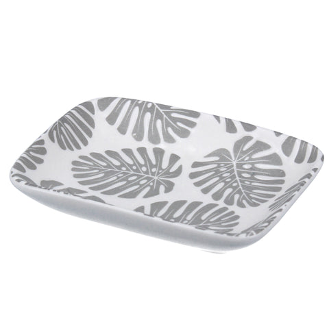 Grey Leaf Trinket Dish