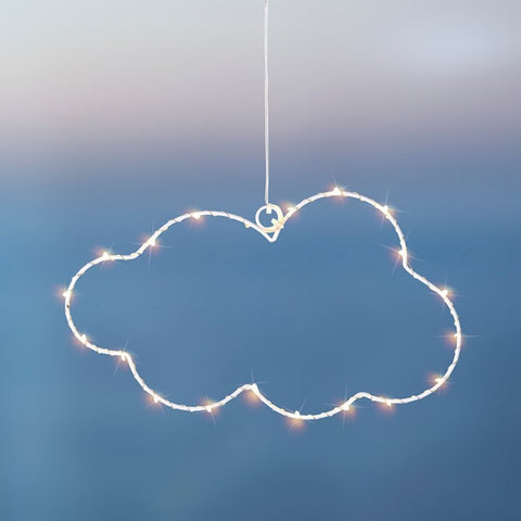 White LED Cloud Small