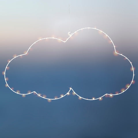 White LED Cloud 40cm