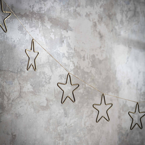 Bronze Star Garland