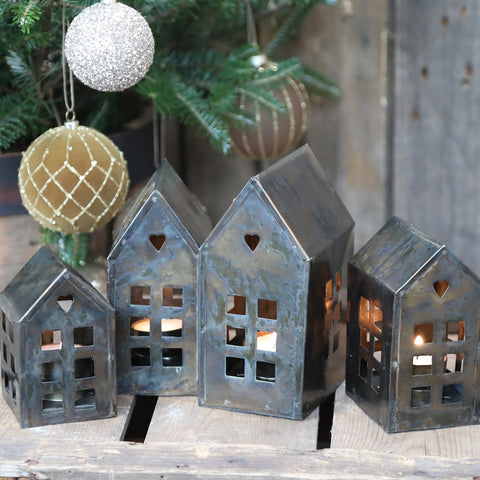 Bronze Tealight House £14
