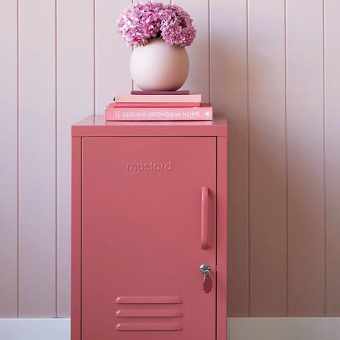 The Shorty Locker in Berry