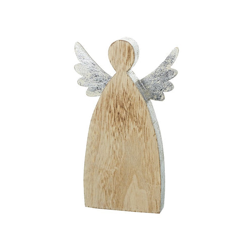 Standing Wooden Angel