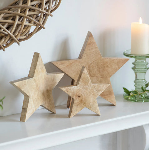 Mango Wood Star Medium