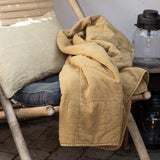 Mustard Yellow Cotton Quilt