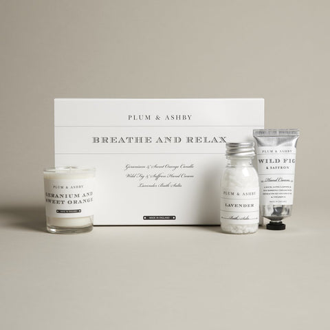 Plum and Ashby Breathe and Relax Gift Set