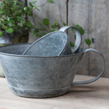 French Flower Pot with Handle 23cm