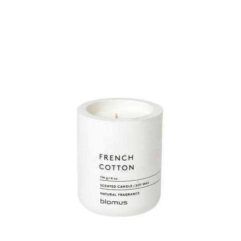 Blomus French Cotton Scented Candle