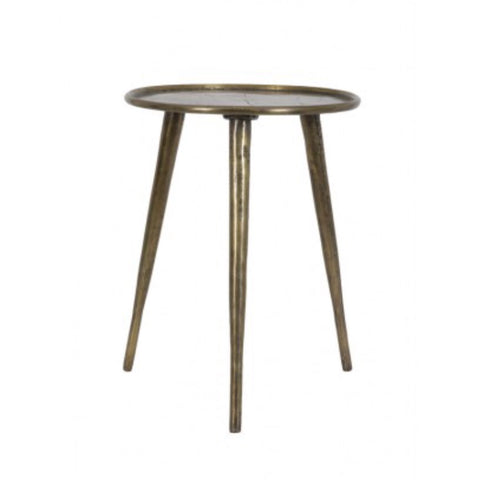 Brass Side Table 36cm