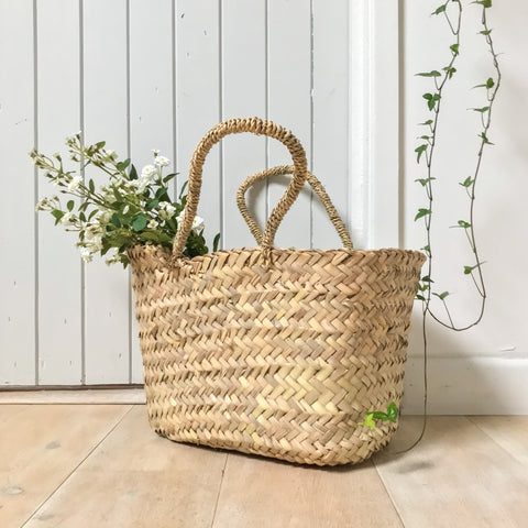 Berber Oblong Basket