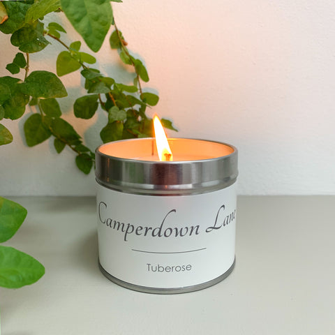 Camperdown Lane Tuberose Candle