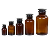 Amber Glass Apothecary Bottle 500ml