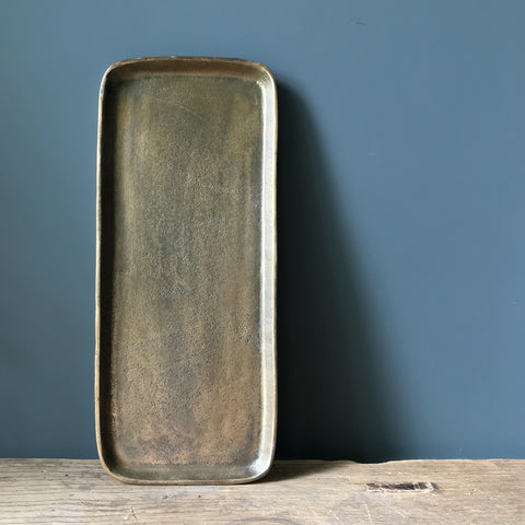 Antique Bronze Tray